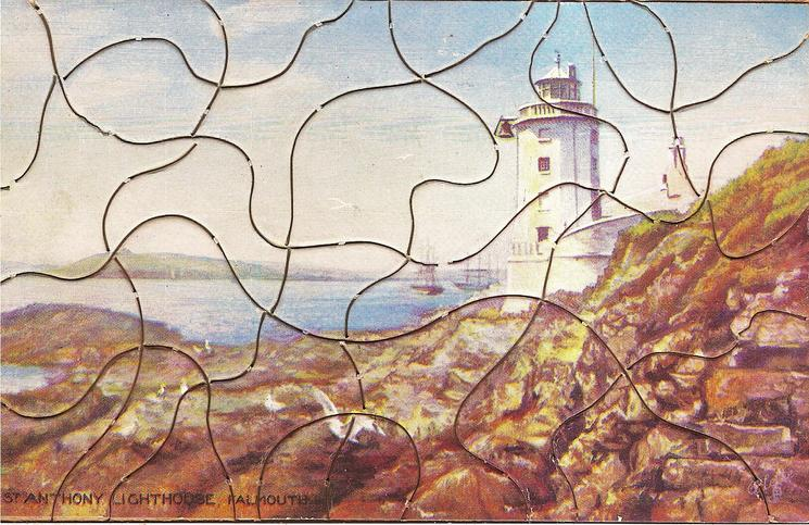 AIRSHIPS AND LIGHTHOUSES - ST ANTHONY LIGHTHOUSE, FALMOUTH