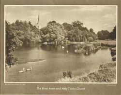 THE RIVER AVON AND HOLY TRINITY CHURCH