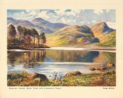 ENGLISH LAKES BLEA TARN AND LANGDALE PIKES