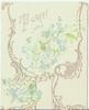 TO GREET YOU blue forget-me-nots and gilt design