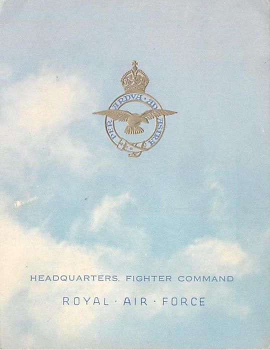HEADQUARTERS, FIGHTER COMMAND -- ROYAL AIR FORCE