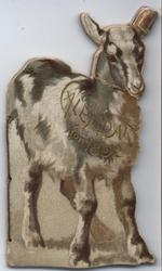 NANNY CALENDAR FOR 1892 goat shaped booklet