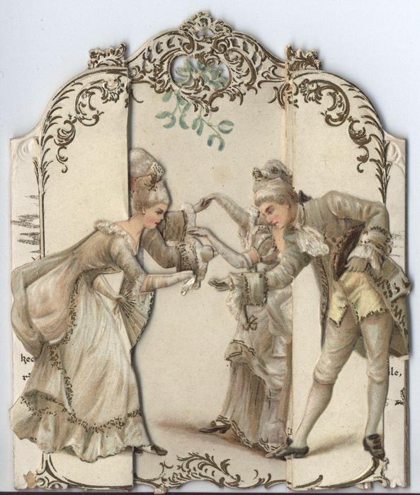 THE MINUET-TABLEAU CALENDAR FOR 1895 (small)