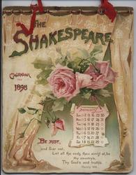THE SHAKESPEARE CALENDAR FOR 1898