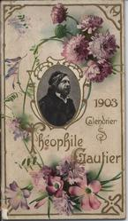 THEOPHILE GAUTIER CALENDRIER 1903