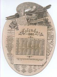 CALENDAR 1887