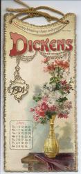 DICKENS CALENDAR FOR 1901