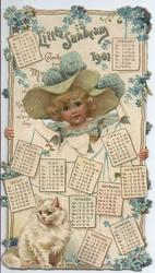 LITTLE SUNBEAM CALENDAR FOR1901