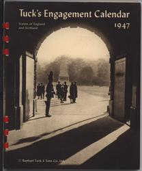 SKETCHES OF ENGLAND AND SCOTLAND TUCK'S ENGAGEMENT CALENDAR 1947