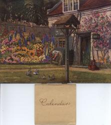 THE WHITE COTTAGE title on reverse