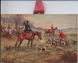 THE DAY OF THE HUNT horse, hounds, and huntsmen