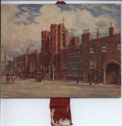ST. JAMES PALACE (title on reverse)