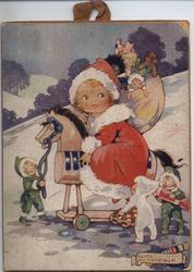 LITTLE MISS SANTA CLAUS (title on reverse)