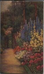 IN A GARDEN OF FLOWERS (title on reverse)