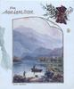 FOR AULD LANG SYNE, LOCH ACHRAY below, small boat, one person, another on shore of loch, heatrher & tartan above
