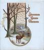 SINCERE GOOD WISHES in orange, circular  inset of stag under trees