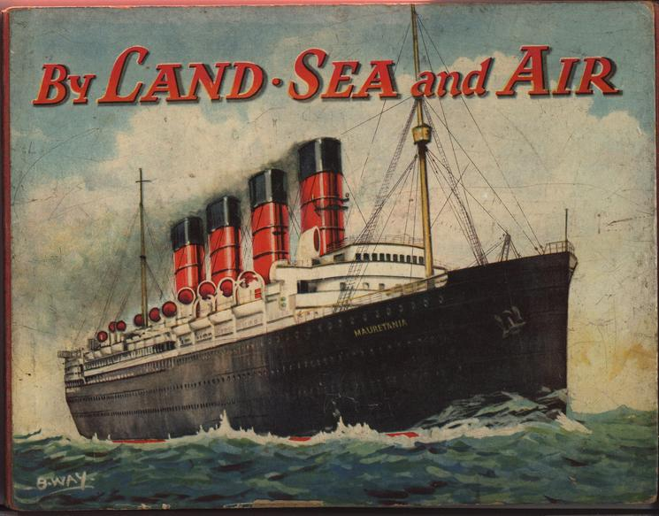 BY LAND. SEA AND AIR Mauretania