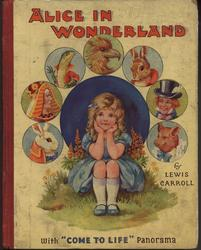 """ALICE IN WONDERLAND WITH """"COME TO LIFE"""" PANORAMA"""