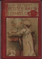 PETITES AMES ET GRANDS COEURS red covers with gold accents,