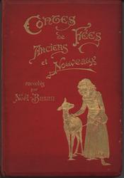 CONTES DE FEES ANCIENS ET NOUVEAUX red covers with gold embossing