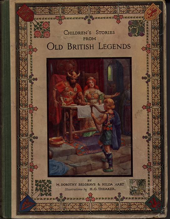 CHILDREN'S STORIES FROM OLD BRITISH LEGENDS