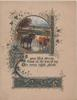 AS YOUR....verse(illuminated),rural inset of cows mostly standing in water, part of very complex gilt & blue design