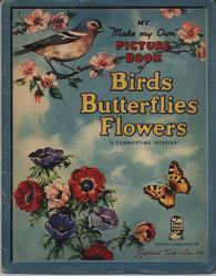 """BIRDS BUTTERFLIES FLOWERS """"A SUMMERTIME WEDDING"""""""