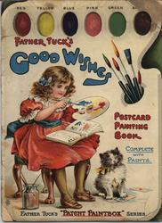 FATHER TUCK'S GOOD WISHES PAINTING BOOK