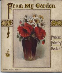 FROM MY GARDEN POSTCARD PAINTING BOOK