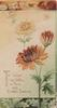TO WISH YOU WELL IN THIS AND EVERY SEASON in gilt below left, orange chrysanthemums