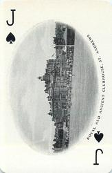 Jack of Spades ROYAL AND ANCIENT CLUBHOUSE, ST. ANDREWS