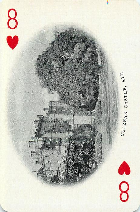 8 of Hearts CULZEAN CASTLE, AYR