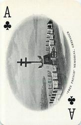 "Ace of Clubs ""FREE FRENCH"" MEMORIAL, GREENOCK"