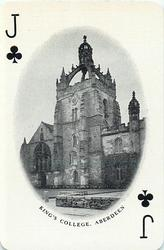 Jack of Clubs KING'S COLLEGE, ABERDEEN