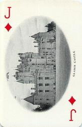 Jack of Diamonds GLAMIS CASTLE