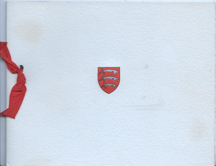 no front title, red & gilt Essex county crest