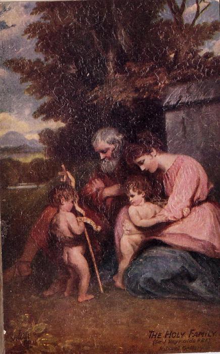 THE HOLY FAMILY (SIR J. REYNOLDS PRA) NATIONAL GALLERY