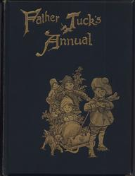 FATHER TUCK'S ANNUAL 1903 for 1904 boy pulls children on sled