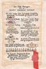 AN OLD RECYPE FOR A RIGHT MERRIE XMAS, page of fake old English-see scan OF YE EXCHEQUOR.