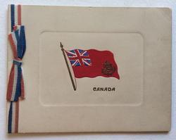 CANADA below flag