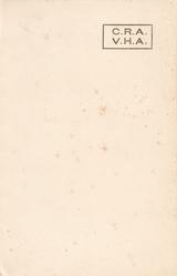 front :-boxed C.R.A.  VHA   initials of Prime Minister Clement & Mrs. Violet Attlee