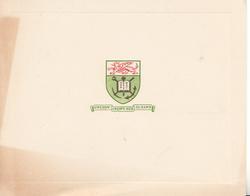 crest above GWEDDW CREFFT-HEB-EI-DAWN