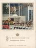 1953 PROGRAMME FOR 15TH DECEMBER, QUEEN ELIZABETH ARRIVES AT WEATMINSTER ABBEY FOR HER CORONATION