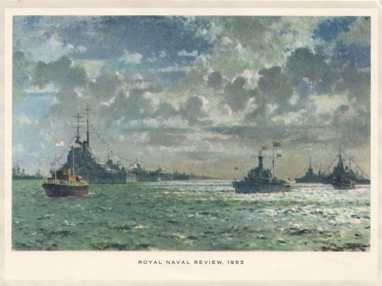 ROYAL NAVAL REVIEW, 1953