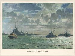 ROYAL NAVAL REVIEW, 1953