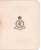 CANADIAN MEDICAL CORPS on gilt embossed emblem with ovular non gilded embossed frame