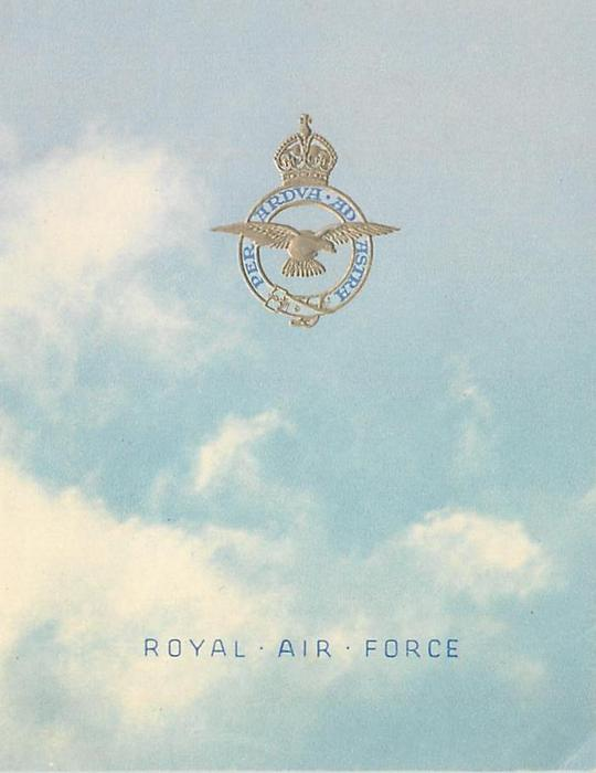 ROYAL AIR FORCE --  WINTHORPE (inside)