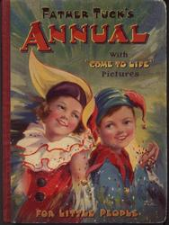 two children in clown costumes