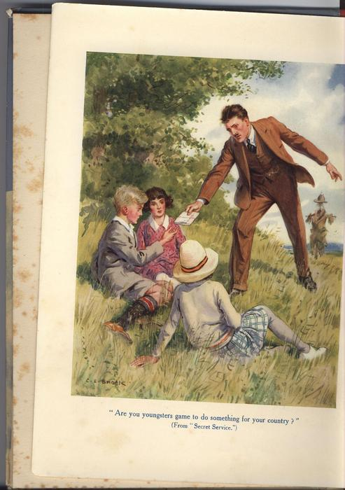 boy and girl sledding down hill, front cover art by MOLLY BENATAR