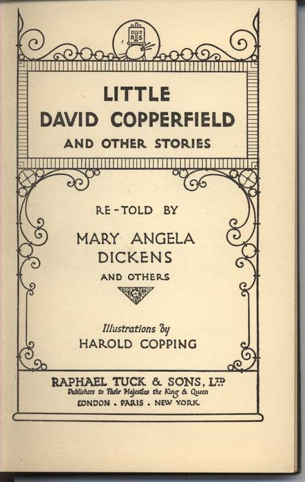 LITTLE DAVID COPPERFIELD AND OTHER STORIES